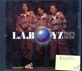 *真音樂* LA.BOYZ / THAT'S THE WAY 二手 K30282