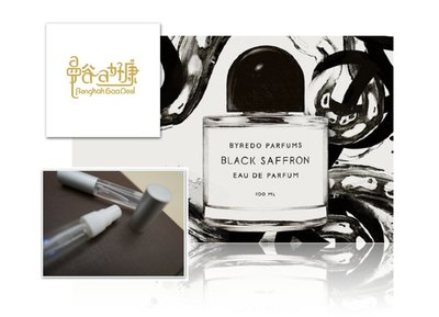 【曼谷A好康】Byredo 黑色番紅花 Black Saffron 分享香