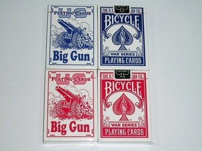 【USPCC撲克】BICYCLE 808 BIG GUN 撲克牌(1付裝)