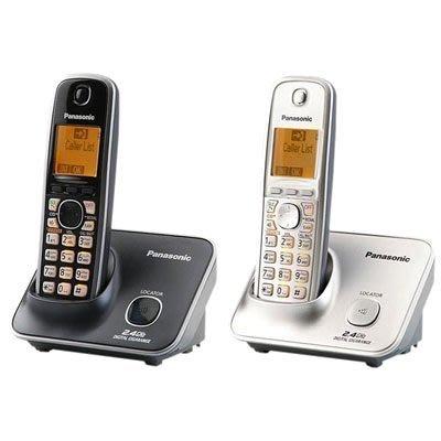《實體店面》Panasonic 2.4GHz KX-TG3711高頻數位無線電話 橘色背光 大鍵盤 TG3711 黑色