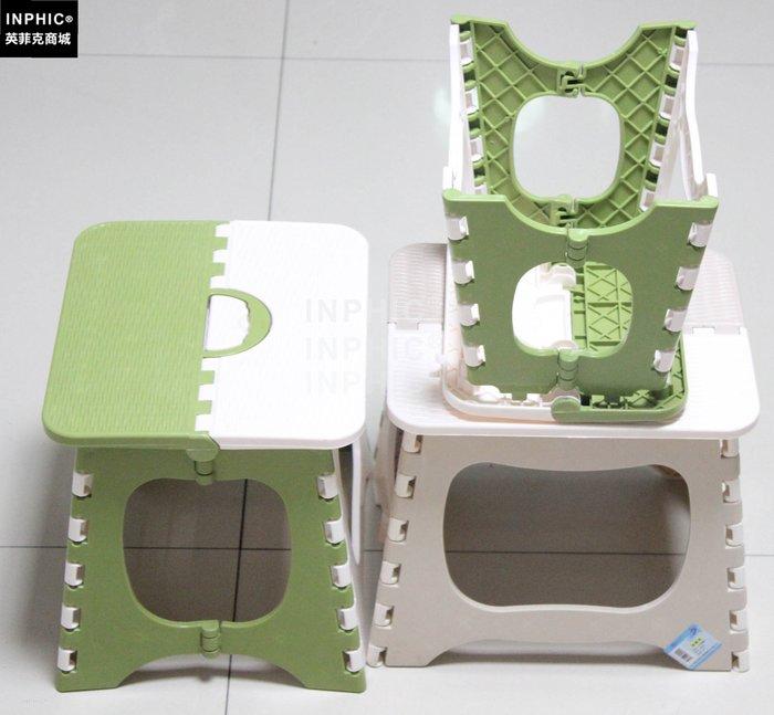 ♥精選暖心商品♥ 折疊凳子/加厚塑膠拼色小凳子/凳子/寶寶椅/兒童小椅子/椅子