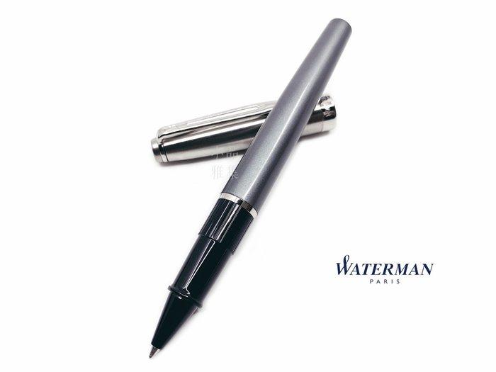 =小品雅集=法國 Waterman Emblème 巴黎魅影系列 鋼珠筆(豪華灰)