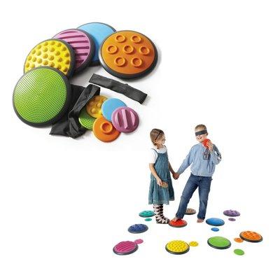【晴晴百寶盒】丹麥進口 觸覺配對組A GONGE 感覺統合 尋寶遊戲感統教具益智遊戲環保無毒玩具遊戲感官W254