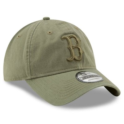 MLB波士頓紅襪隊New Era Tonal Bark Core Classic 9TWENTY 棒球帽