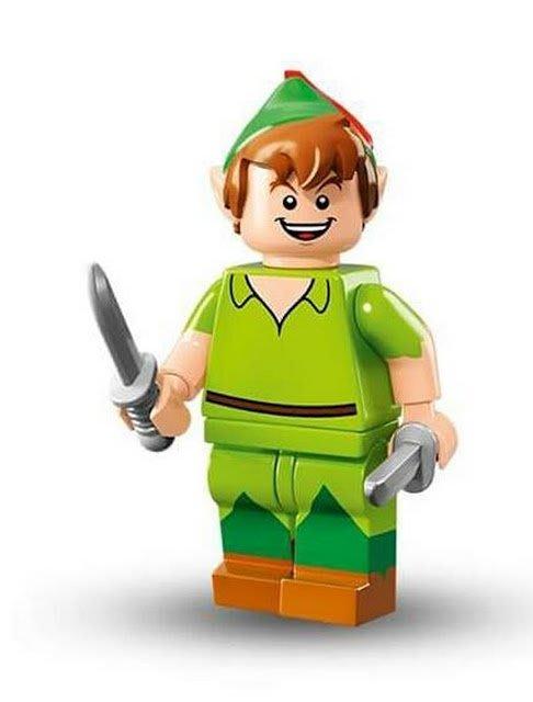 現貨【LEGO 樂高】Minifigures人偶系列: 迪士尼Disney 人偶包抽抽樂71012 | 小飛俠 彼得潘