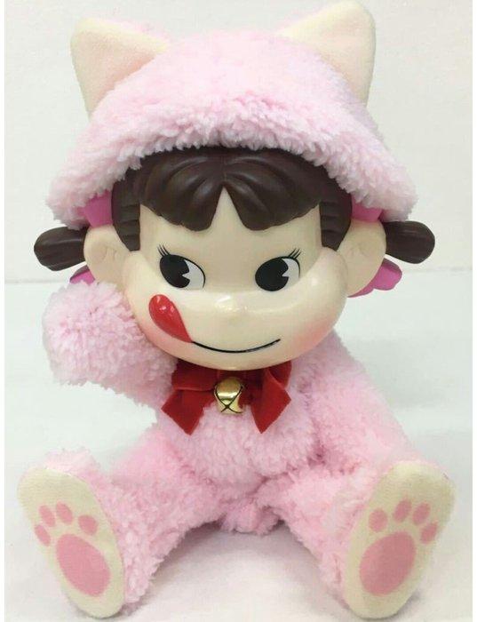 天使熊雜貨小舖~日本帶回不二家牛奶妹peko貓咪造型公仔  全新現貨