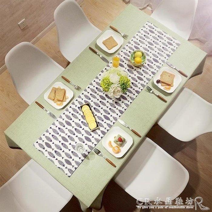 茶幾餐桌佈防水北歐式INS宿舍桌布長方形臺布誘貨ZY