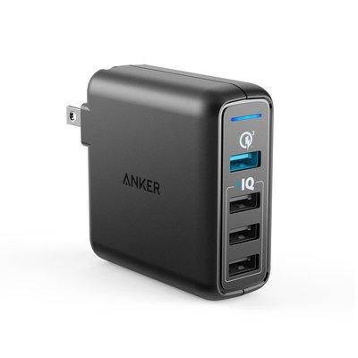 【竭力萊姆】全新現貨開發票保18月 ANKER PowerPort Speed 4 四孔 QC3.0  43.5W 快充