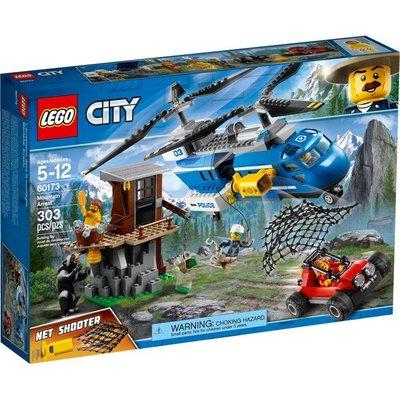 禮物【芒果樂高】Lego 60173【 CITY 城市系列 山路追捕 Mountain Arrest】 壓盒還原