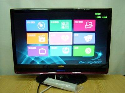 保固3個月【小劉二手家電】SAMPO 24吋雙HDMI電腦液晶螢幕,LM-24S6P型