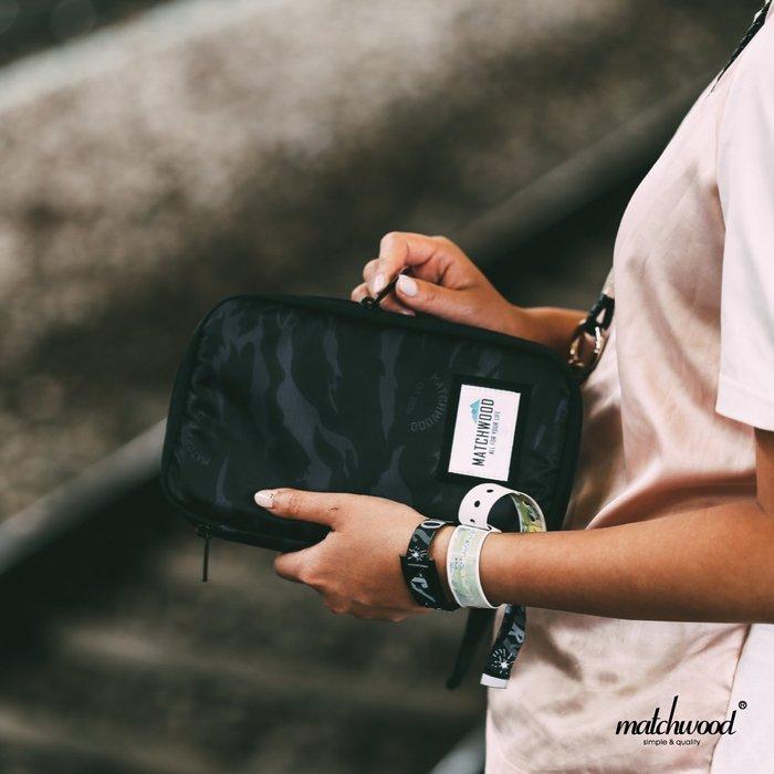 【Matchwood直營】Matchwood Universal 護照包 護照夾 機票證件 黑虎斑迷彩款 開學限時優惠
