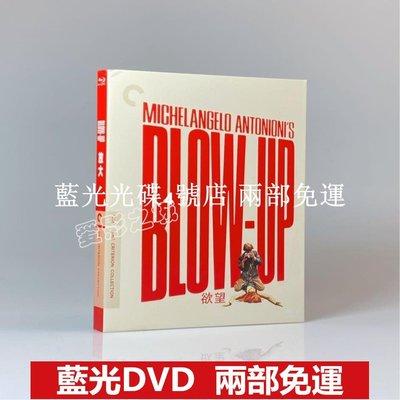 藍光BD光碟 放大 Blow-Up (1966) 懸疑驚悚電影 1080P高清收藏版 全新盒裝 繁體中字