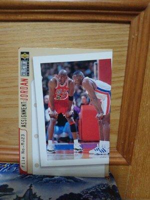 1996 Collectors Choice Assignment Michael Jordan #363
