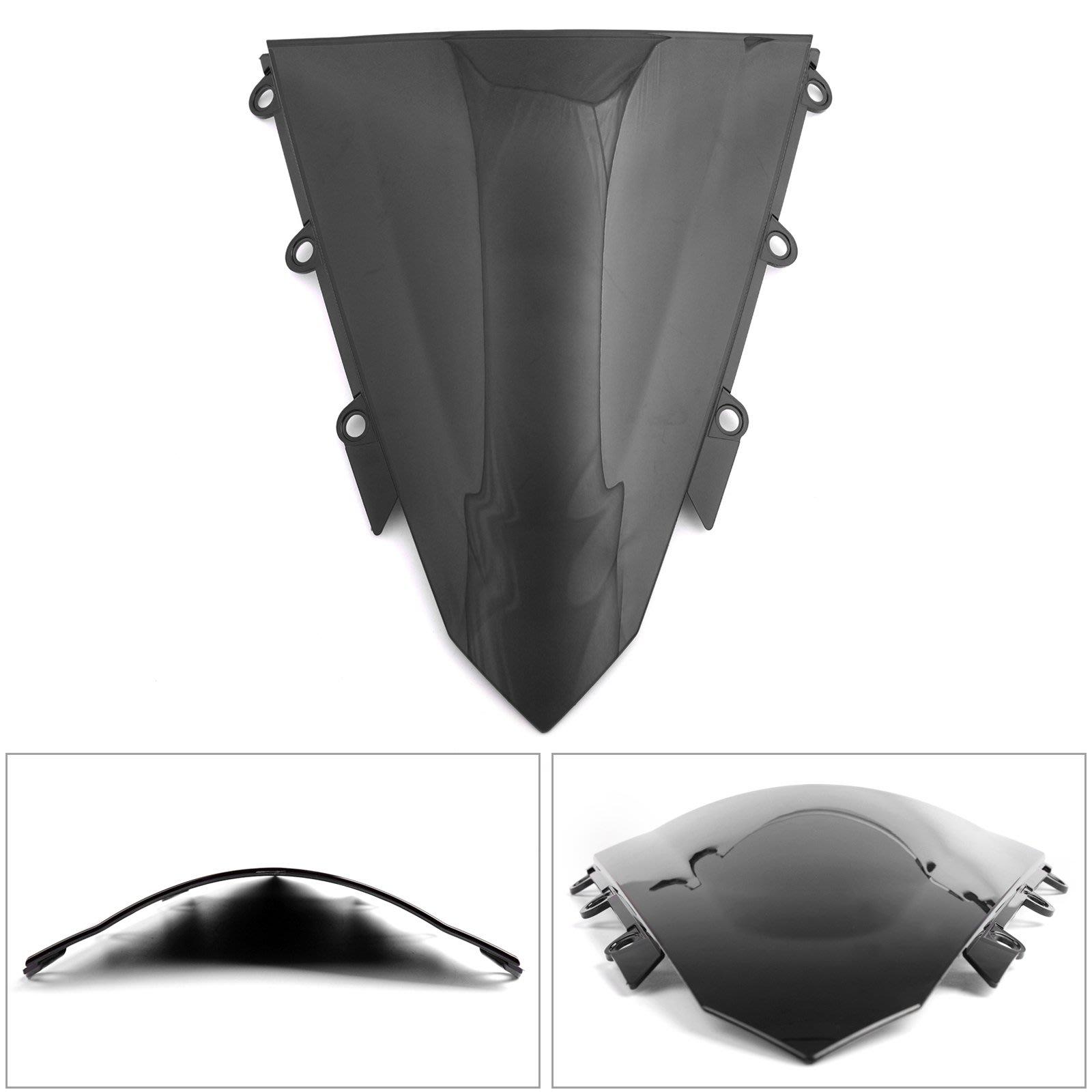 《極限超快感》Honda CBR500R 2013-2017黑色抗壓擋風鏡