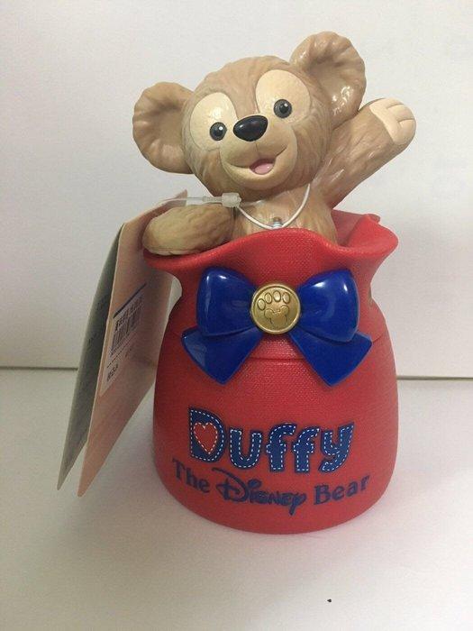 東京迪士尼海洋限定《全新》達菲熊立體禮物包裝造型 糖果罐/收納罐