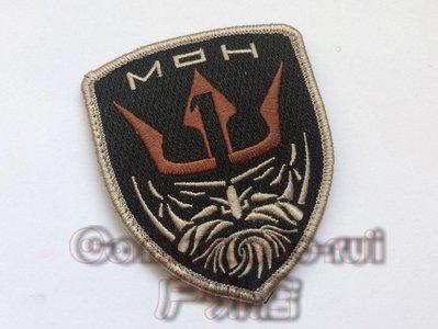 榮譽勛章/Medal of Honor/MOH 海神 Neptune 徽章 魔術貼