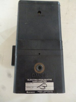 Electro-pneumatic converter en40 變流器 轉換器