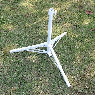 戶外遮陽傘可折疊傘底座三角支撐太陽傘固定支架庭院傘撐傘托