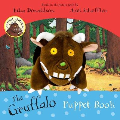 *小貝比的家*THE GRUFFALO PUPPET BOOK/硬頁 /3~6歲/手偶書