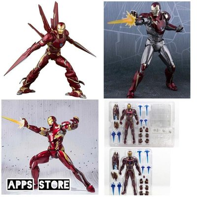 [Apps Store]復仇者聯盟4/3 SHF 鋼鐵人 MK50 / MK46 /MK50 奈米武器 模型