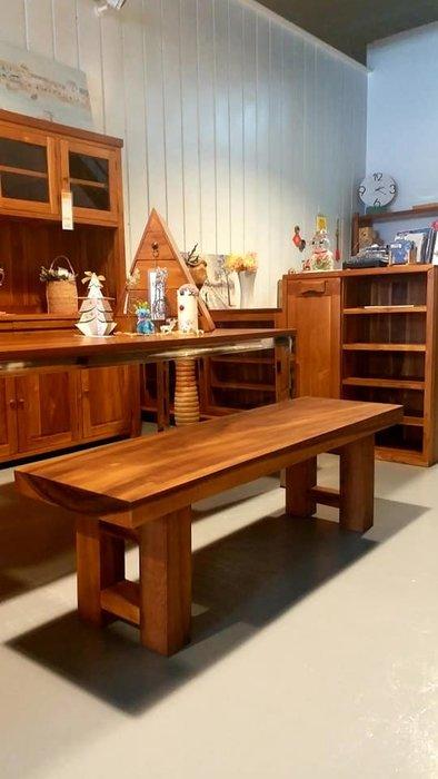 幸福家傢俱 實木長板凳,長椅(OTH-MTB-46-C改版)