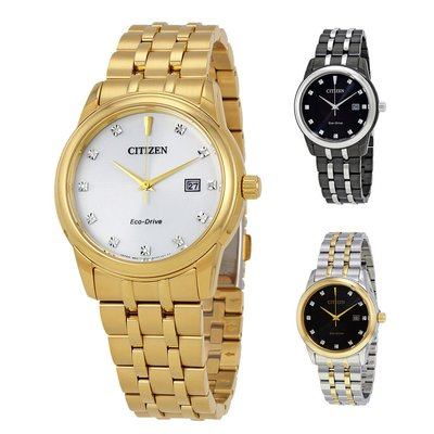 【換日線】男錶 Citizen Diamond Collection Men's Watch - Choose color