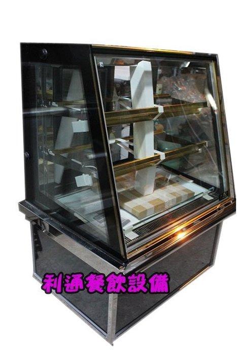 《利通餐飲設備》瑞興 3尺落地型蛋糕櫃 3尺蛋糕櫃 斜玻璃 多彩 展示冰箱