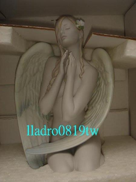 (全新品∼情人禮物)LLADRO 妳是我的天使 (金卡會員限量)西班牙雅緻瓷偶 (另麥森MeissenRoyal)