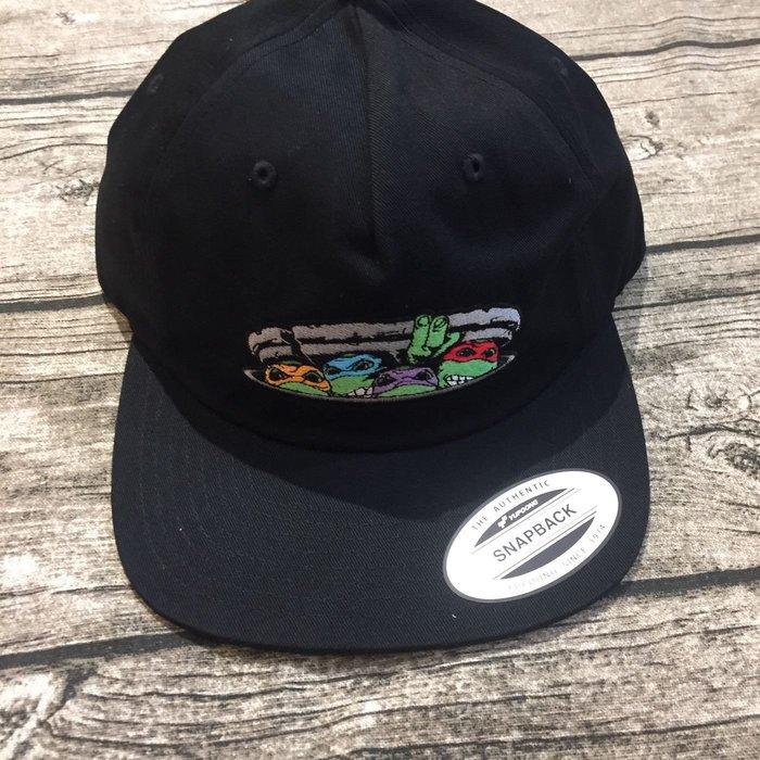 Santa Cruz 忍者龜 棒球帽 排扣