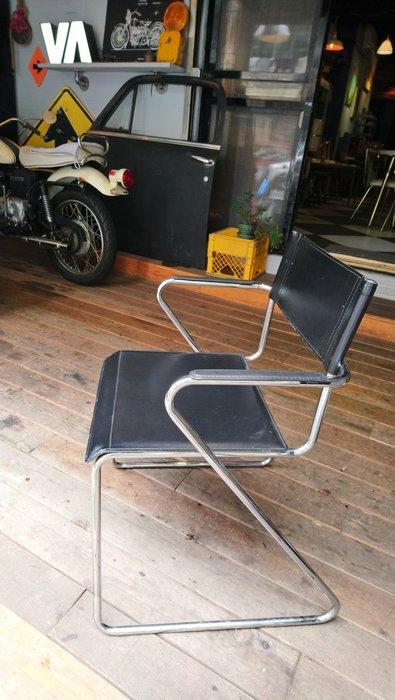 Vintage Americana。復古事 美國進口 仿皮椅 1970-80年代 復古家具 摩登風