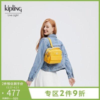 奇奇kipling女款輕便帆布包時尚潮流單肩手提包斜挎包|PUCK|CANDY