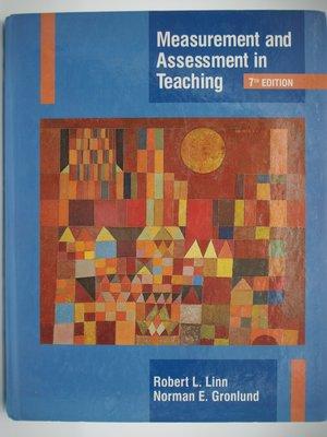 【月界】Measurement and Assessment in Teaching-7e_Linn 〖大學教育〗AJA