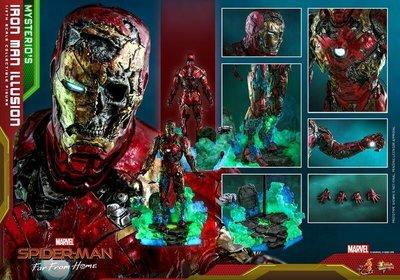 《瘋樂模玩》預購22年第三季 Hot Toys MMS580 蜘蛛人:離家日 鋼鐵人 幻象 訂金3000尾款10000