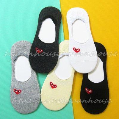 韓國 愛心眼睛 防滑膠條 隱形襪 船形襪 襪子 棉襪