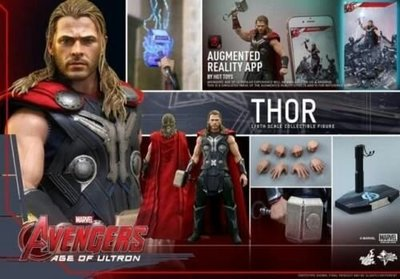 Hot Toys MMS306 Avengers 復仇者聯盟 Age of Ultron 奧創紀元 AOU Thor  雷神 1/6 figure 全新未開封