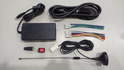 TOYOTA ALTIS cq-js76g0ww 汽車音響 電源喇叭線 12V5A電壓器含母座 家用天線 開關