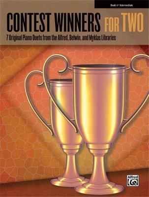 【599免運費】Contest Winners for Two Book 4【00-42273】
