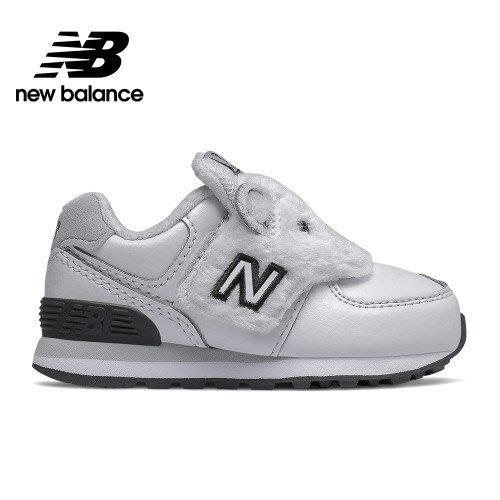 ➕S.P➕ 小童鞋 NEW BALANCE 紐巴倫 NB 574 運動鞋 北極熊 白黑 寬楦 W IV574AQB