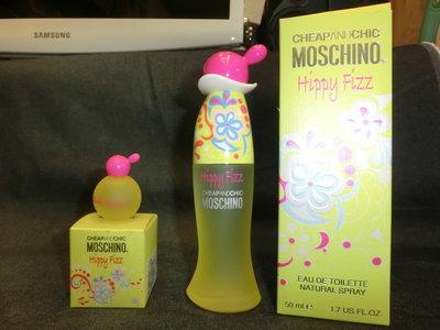 Cheap and Chic Moschino Hippy Fizz 愛嬉戲女性香水 EDT 50ml 和 4.5ml