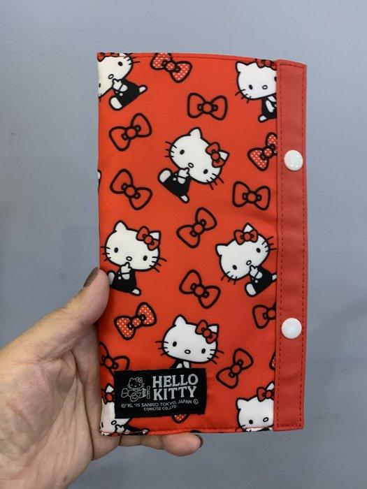 ^燕子部屋 ^三麗鷗正版【Hello Kitty 】旅用多功能夾-紅色(清倉 原價790 現特390)