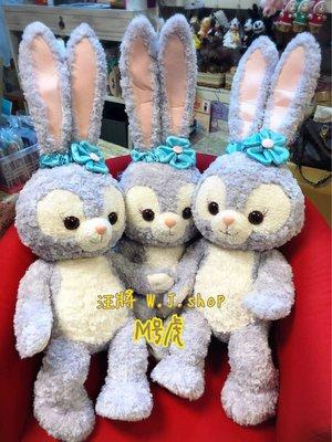 現+預☆汪將☆日本迪士尼海洋 達菲好朋友 stella lou 史黛拉 兔子 m號 娃娃 絨毛布偶 大娃娃