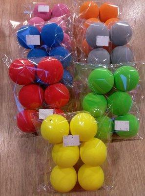 兒童初學 練習專用 室內高爾夫泡棉球 打造高爾夫的炫彩生活(6顆)