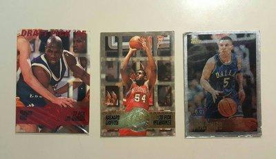 【郵幣新天地】早期 NBA籃球卡《119》三張一拍◎ 拍多少是多少,不提前結拍...《絕版籃球卡》