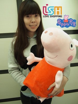 【愛購樂】 Peppa pig 佩佩豬...