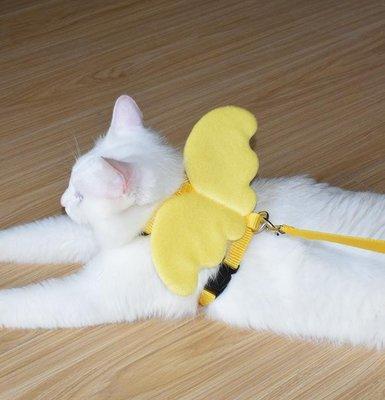 遛貓繩貓鏈貓咪牽引繩防掙脫溜貓繩胸背帶貓牽引繩貓項圈貓咪用品【移動雜貨鋪】