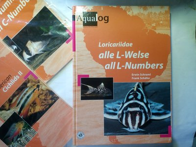 水族叢書 觀賞魚專業型錄 Aqualog Loricariidae All L-Numbers 異形魚全目錄 2004版