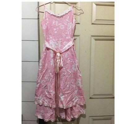 淑女洋裝、靑春洋裝、長洋裝、蕾絲洋裝、氣質洋裝、花朵洋裝、無袖洋裝、年輕洋裝、少女洋裝、氣質裝、二手衣、好看洋裝、漂亮衣服、二手衣服、過膝洋裝、專櫃洋裝、美麗衣