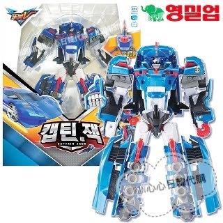台北超取自取【Hsin】韓國宇宙奇兵 機器戰士 tobot v 第二季 藍色 跑車 船長 傑克 變形 機器人 玩具遊戲組