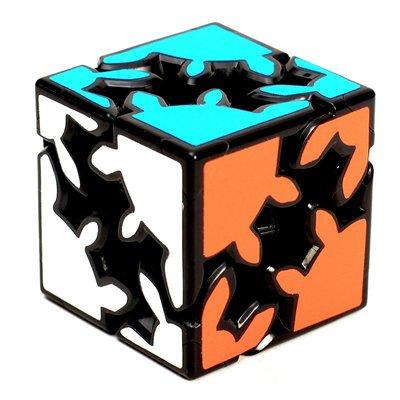 奇奇店-zucbe 二階齒輪魔方異形2階3階順滑初學 送復原教程 益智玩具(款式不同價格不同下標前請諮詢客服喔)