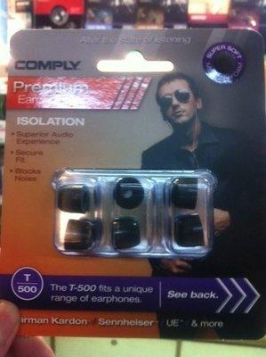視聽影訊 Comply T-500 T500 耳機耳綿1對 適用於 sony 鐵三角 另 T100 TX400 T400